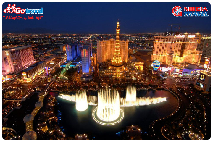 Tour Du Lịch Bờ Tây Hoa Kỳ ( Los Angeles - Las Vegas)