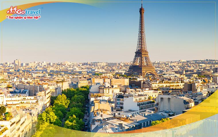 Tour châu Âu: Pháp - Đức - Bỉ - Hà Lan