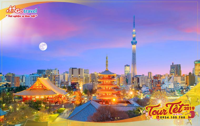 Du lịch Nhật Bản Tết 2019 (4N3Đ - Mùng 2 Tết)