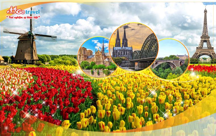 Pháp - Luxembourg - Bỉ - Hà Lan - Đức