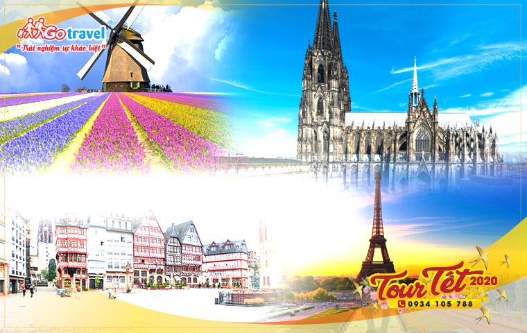 Tour Tết Châu Âu: Pháp - Đức - Bỉ - Hà Lan