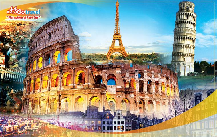 Tour Pháp - Thụy Sỹ - Ý