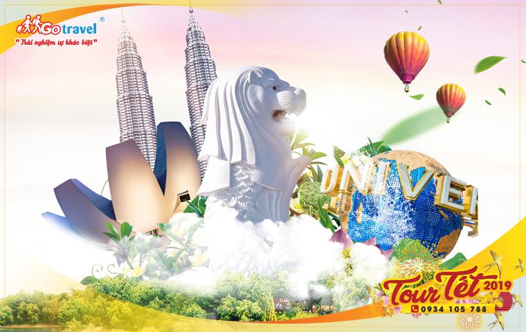 Tour Tết Singapore - Malaysia