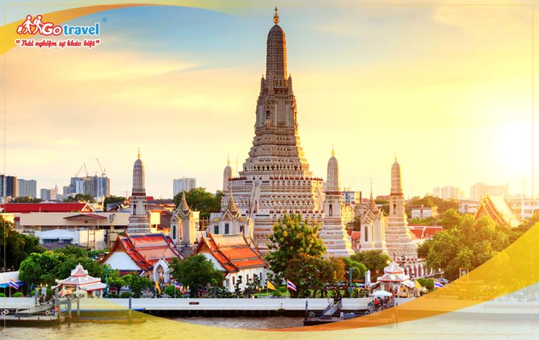 Tour Thái Lan Hành Trình Khám Phá Đất Phật (VJ - Tháng 6,7,8,9)