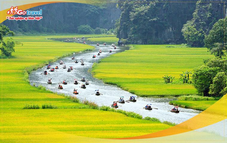 Tour Miền Bắc: Bái Đinh -Tràng An - Hạ Long - Yên Tử - Hà Nội